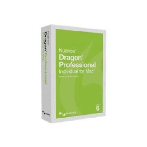 Dragon Professional Individual for Mac - (v. 6) - box pack - 1 user - academic, online validation - Mac - English