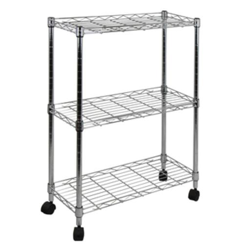 Seville Classics Kitchen Storage & Organization UltraZinc Mini 3-tier Shelf Organizer
