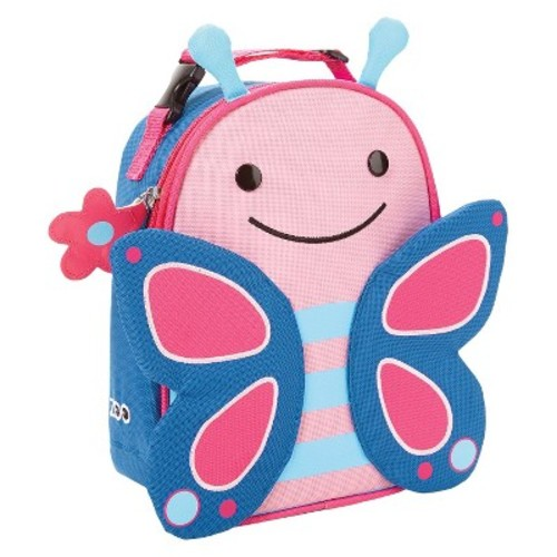 Skip Hop Zoo Little Kids & Toddler Insulated Lunch Bag - Butterfly