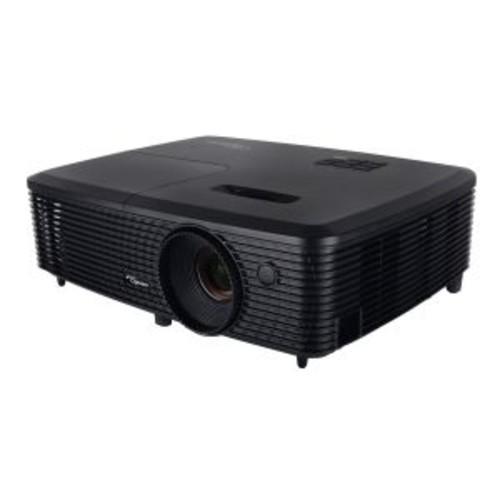 Optoma 3D DLP Projector - WXGA 1280x800, 3600 Lumens, 22,000:1 Contrast, 1.541.7:1 Throw Ratio, SRGB, Full 3D, HDMI, Powered USB w/ Mouse Control, 1yr Warranty 90days Lamp - W341