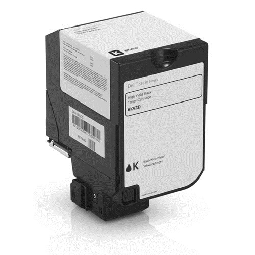 Dell 6KV2D High Yield - - original - toner cartridge - for Color Smart Printer S5840cdn () black
