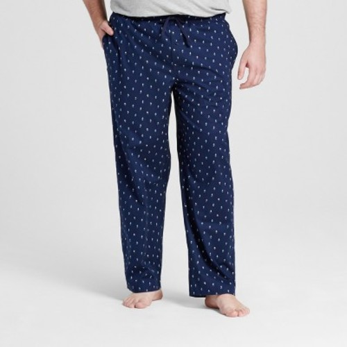 Men's Big & Tall Woven Sleep Pant - Merona Navy