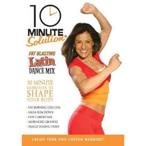 10 Minute Solution: Fat Blasting Latin Dance Mix [DVD] [English] [2007]