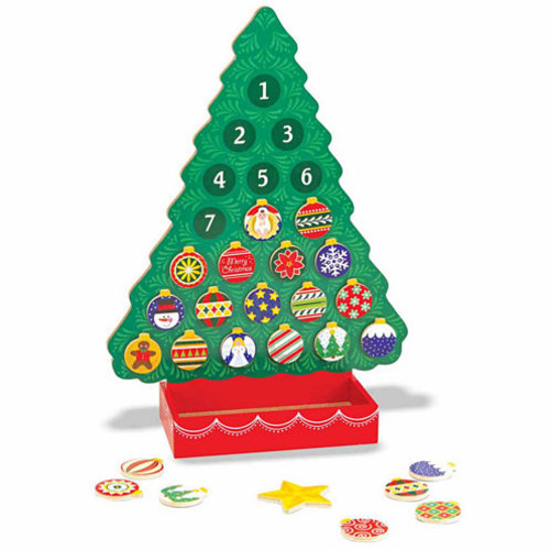 Melissa & Doug Learning & Educational Toys Melissa & Doug Wooden Advent Calendar