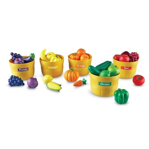 Learning Resources Learning & Educational Toys Farmer's Market Color Sorting Set