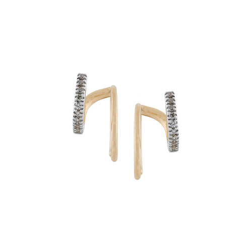 Manon Blanc diamond earrings (pair)