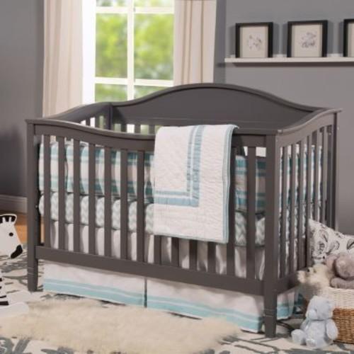 DaVinci Laurel 4-in-1 Convertible Crib in Slate