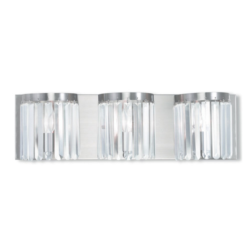 Livex Lighting Ashton 3-light Brushed Nickel Bath Vanity - Brushed nickel