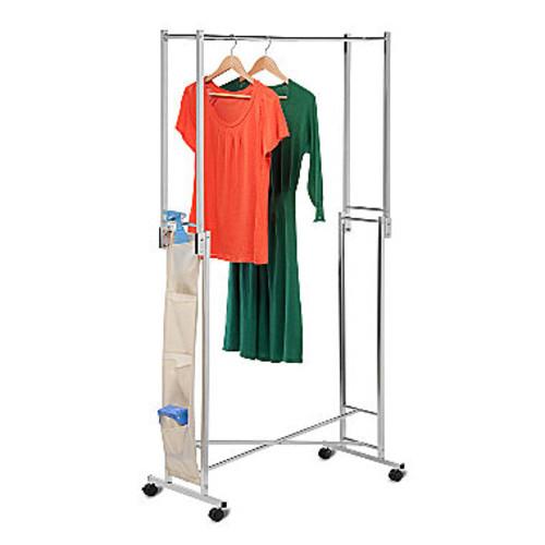 Honey-Can-Do GAR-01433 Steel Folding Garment Rack, Folds F