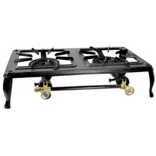 Buffalo Tools Double Burner Cast Iron Stove