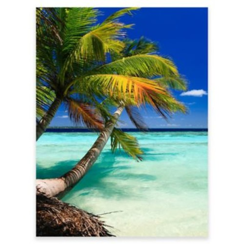 Palm Vertical Outdoor All-Weather Canvas Wall Art