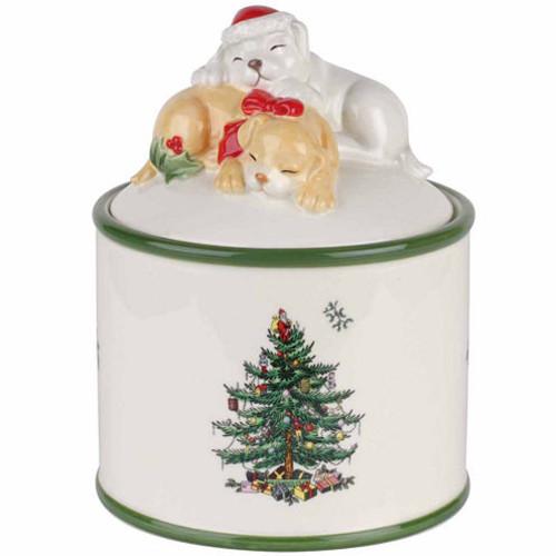 Spode Christmas Tree Candy Jar