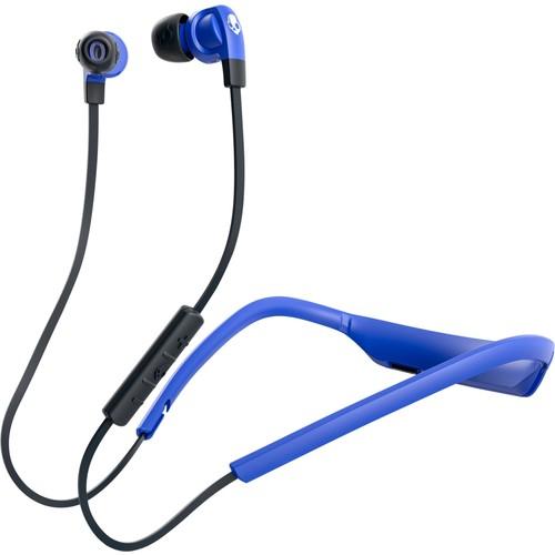 Skullcandy - Smokin Buds 2 Wireless In-Ear Headphones - Dark blue/royal blue