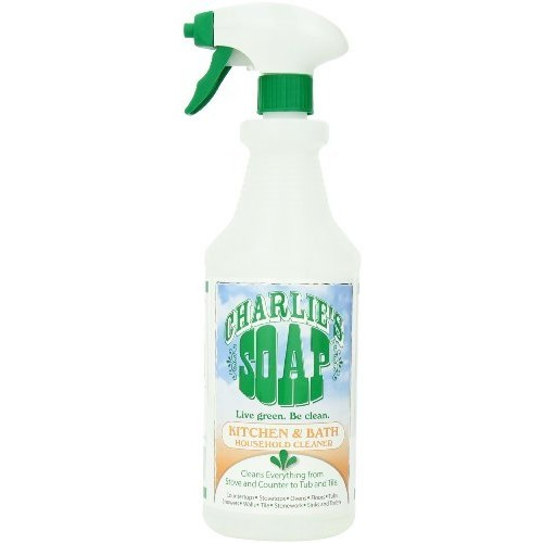Charlie's Soap - Non-toxic, Kitchen & Bath, Multi-surface Cleaner (32 oz (1 Pack))