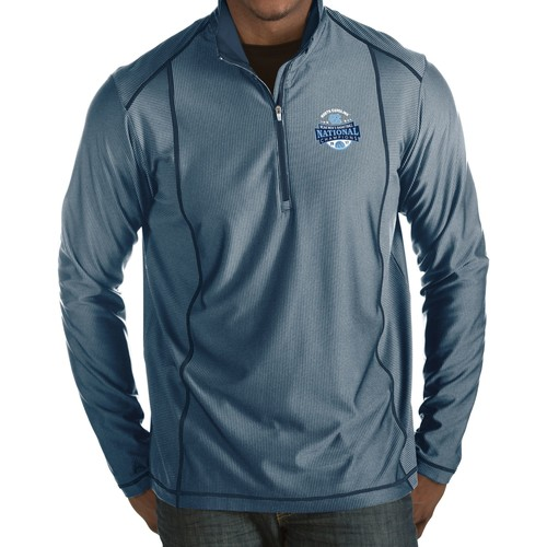 Antigua Men's North Carolina Tar Heels 2017 NCAA Men's Basketball National Champions Tempo Half-Zip Shirt