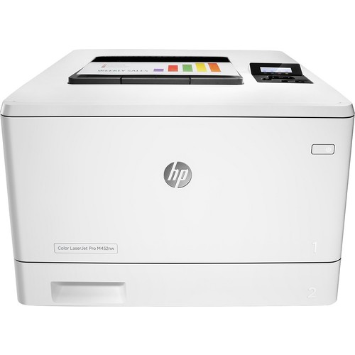 HP - LaserJet Pro m452dw Color Printer - White