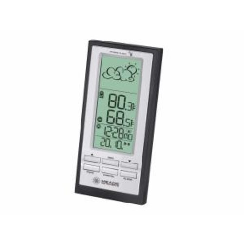 Meade Wireless Personal Weather Station with Atomic Clock and remote TS23C Sensor