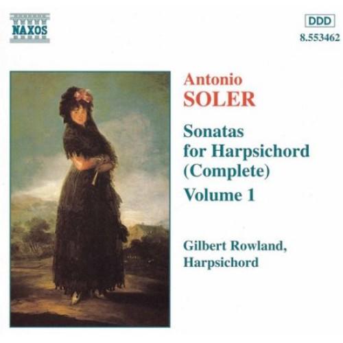 Antonio Soler: Sonatas for Harpsichord (Complete), Vol. 1 [CD]