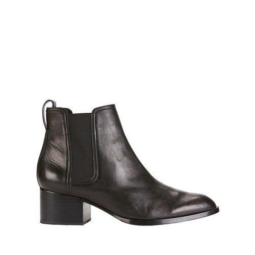 RAG & BONE Walker Black Leather Booties
