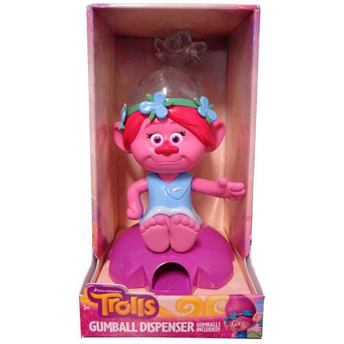 DreamWorks Trolls Poppy Gumball Dispenser