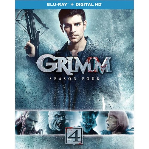 Grimm: Season Four [Includes Digital Copy] [UltraViolet] [5 Discs] [Blu-ray]
