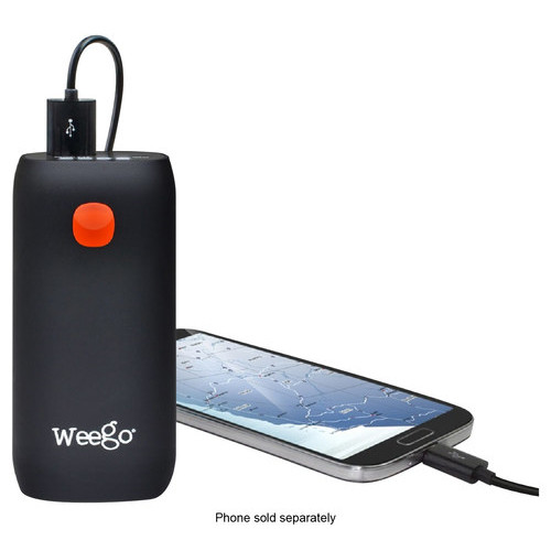 Weego - Tour 5200 Portable Charger - Black