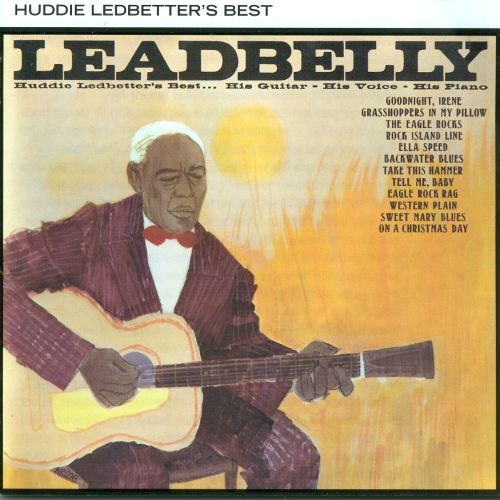 Huddie Ledbetter's Best (His Guitar His Voice His Piano) [CD]
