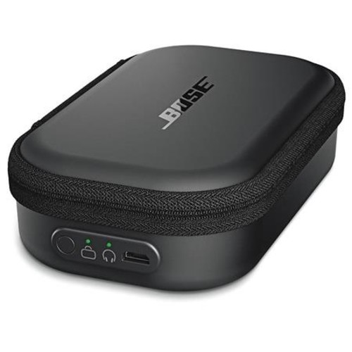 Bose SoundSport Wireless Headphones Black W/Bose Charging Case f/Wireless Headpn