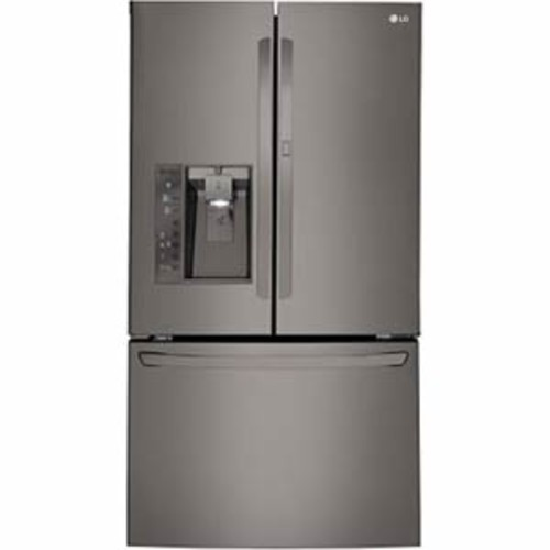 LG 30 cu.ft. Super-capacity French Door Refrigerator - Black Stainless Steel
