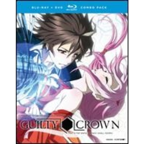 Guilty Crown: The Complete Series [Blu-ray/DVD] [8 Discs]