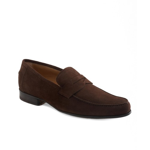 Lightweight Suede Penny Loafers
