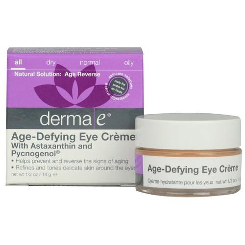 Derma E Age-Defying Antioxidant Eye Creme -- 0.5 oz
