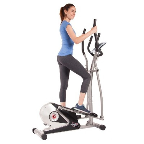 Body Champ Magnetic Elliptical Trainer with Heart Rate Technology