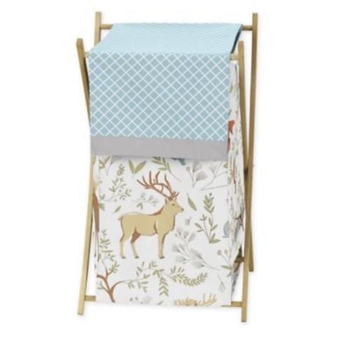 Sweet Jojo Designs Woodland Toile Laundry Hamper