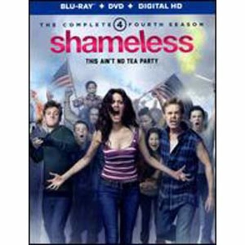 Shameless: The Complete Fourth Season [5 Discs] [Blu-ray/DVD]