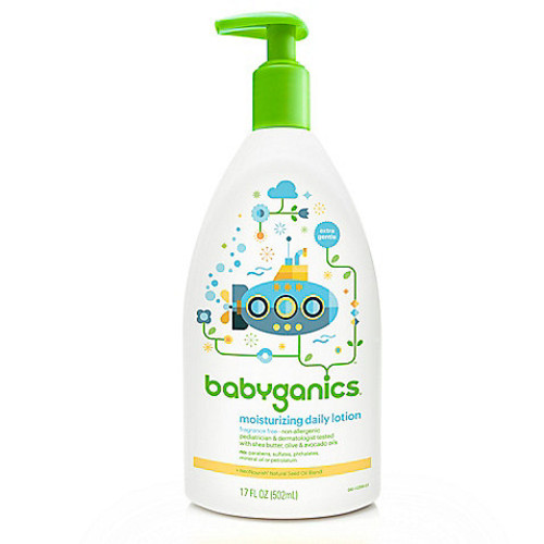 Babyganics 17 oz. Fragrance-Free Moisturizing Daily Lotion