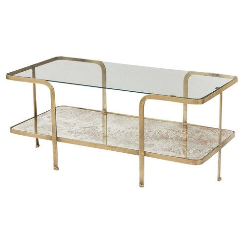 Bale Coffee Table, Bronze