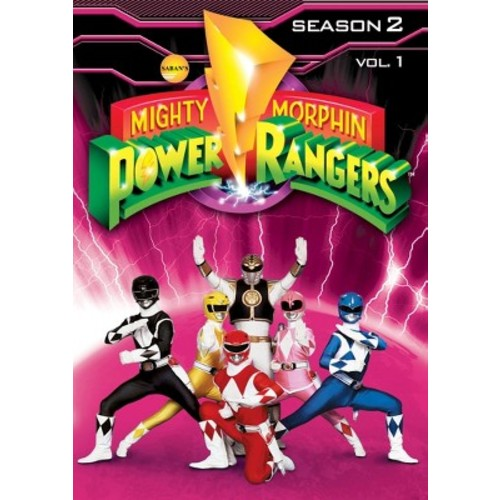 Mighty Morphin Power Rangers: Season 2, Vol. 1 (3 Discs) (dvd_video)