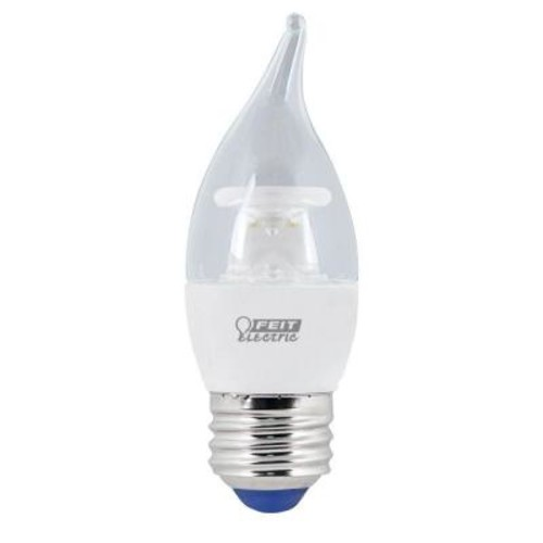 Feit Electric 40W Equivalent Warm White B10 Cold Start Chandelier LED Light Bulb (Case of 12)