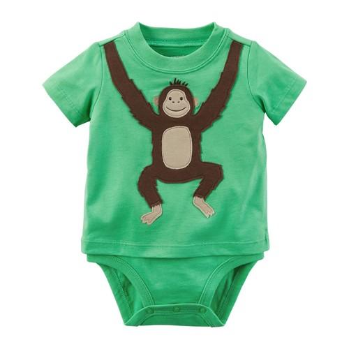 Monkey Double-Decker Bodysuit