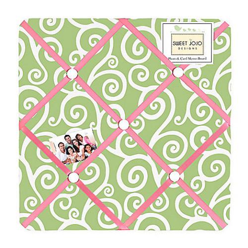 Sweet Jojo Designs Olivia Fabric Memo Board