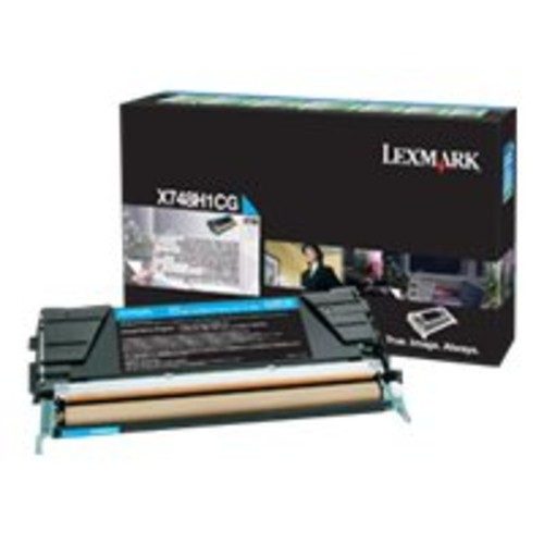 Lexmark CYAN TONER CARTRIDGE FOR X748