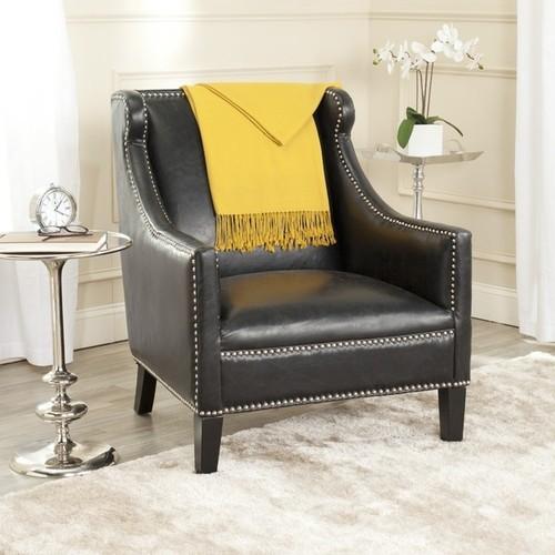 Safavieh Mckinley Antique Black Club Chair