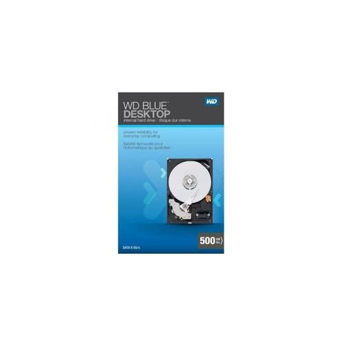 ALMM WD Blue Desktop 500GB SATA 3.0 GB/s 7200 RPM 16MB cache 3.5-Inch Internal Desktop Hard Drive Retail Kit
