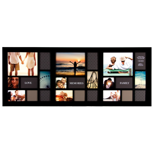 Gallery Solutions 24 Opening Collage Picture Frame