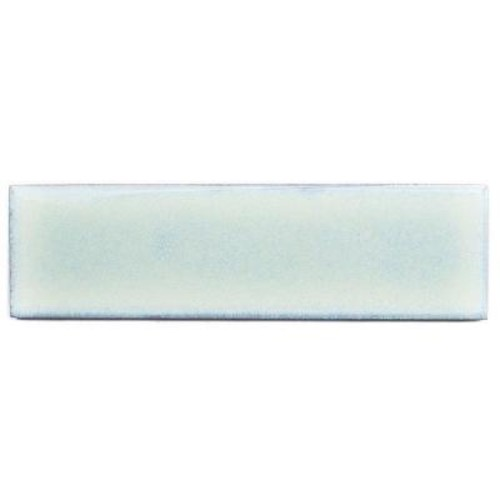 Splashback Tile Vintage Light Blue Ceramic Mosaic Wall Tile - 3 in. x 9 in. Tile Sample