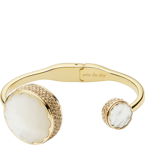 kate spade new york Scallop Pave Hinge Bangle Activity Tracker