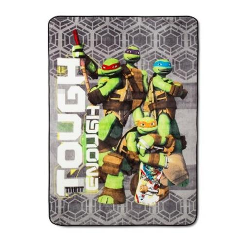 Teenage Mutant Ninja Turtles Green Bed Blankets (Twin)