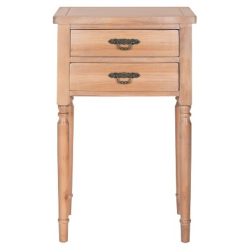 Marilyn End Table Natural - Safavieh