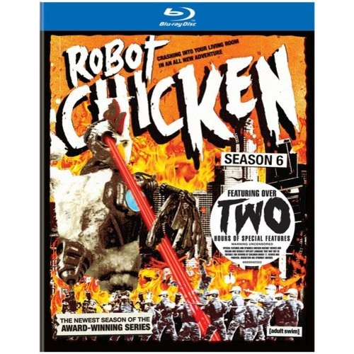 Robot Chicken: Season Six - AC3 Dolby - Blu-ray Disc